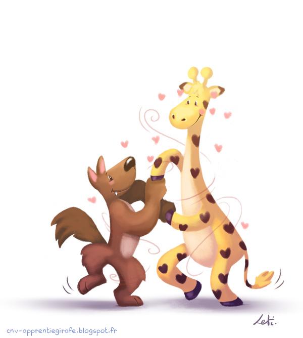 Création : Des Girafes sur les Petites Roches ?
